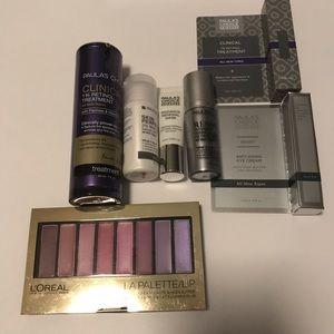7pc. Paula's Choice SkinCare+Lip Palette